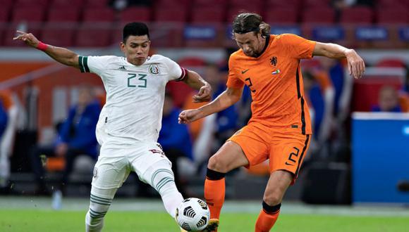 México y Holanda se enfrentaron en amistoso de fecha FIFA de cara a las eliminatorias para Qatar 2022   Foto: @miseleccionmx