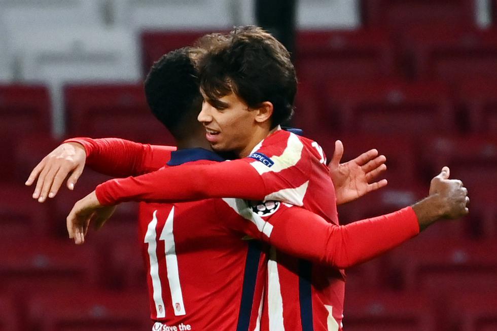Joao Félix le dio el triunfo al Atlético de Madrid por la Champions League