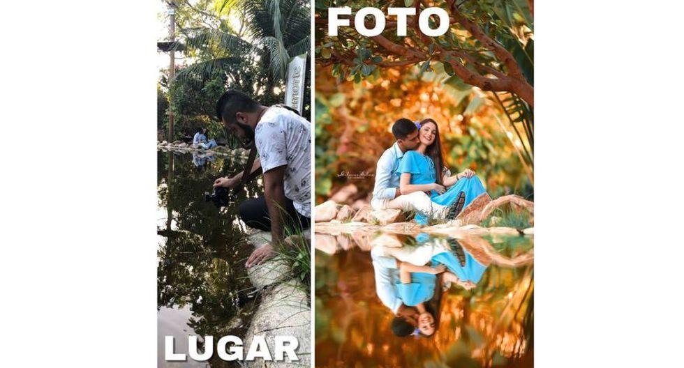 Así se planificaron estas bellas escenas. Los secretos mejor guardados de un fotógrafo brasileño para hacer retratos y fotos de eventos especiales. (Facebook @gilmarsilvafotografia)