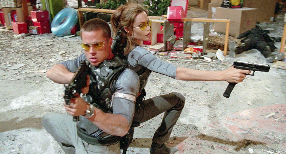 Angelina y Brad en 20 fotos que retratan sus momentos felices - 4