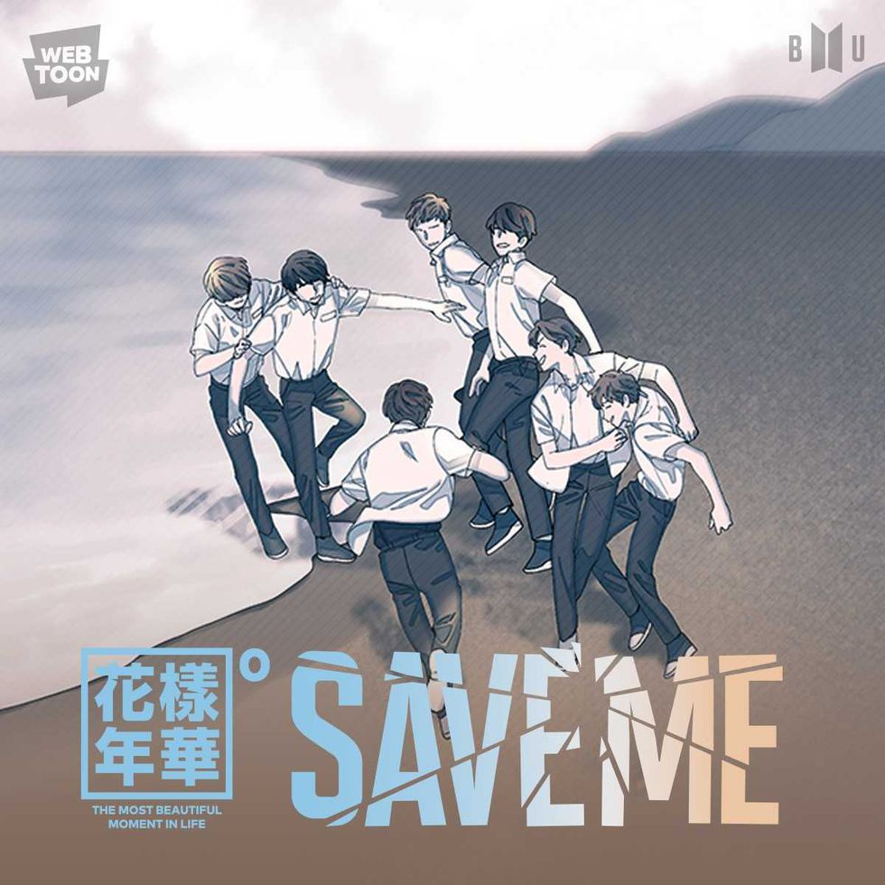 """Save Me"" de BTS. (Foto: WebToon)."