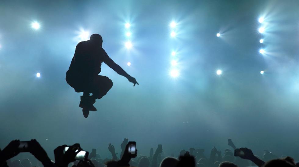 Rihanna y Kanye West cantaron juntos en fiesta pre Super Bowl - 3