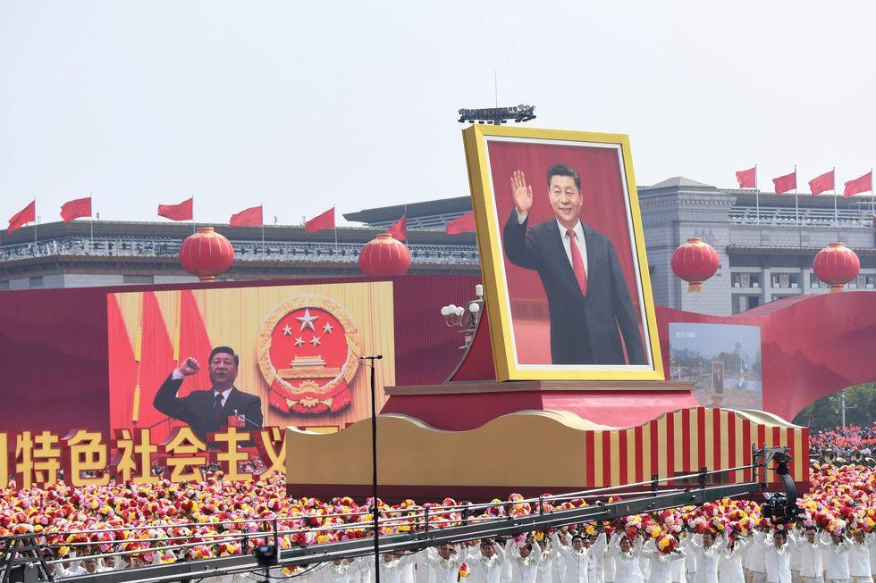 La imponente parada militar del 1 de octubre mostró el liderazgo de Xi Jinping en la plaza Tiananmen. [AFP]