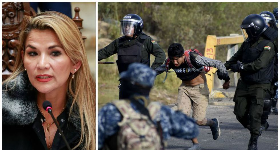 "Bolivia: El decreto de Jeanine Áñez para quitarle la ""responsabilidad penal"" a militares que repriman las protestas. (Foto: Reuters / AP)"