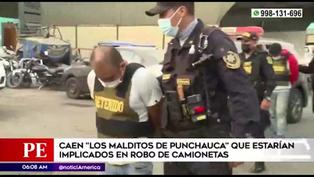 Carabayllo: PNP capturó a miembros de la banda 'Los Malditos de Punchauca'