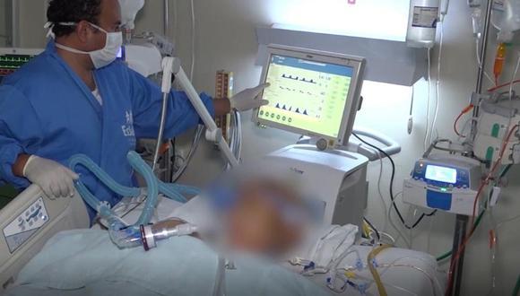 En marzo, el hospital Luis Heysen Incháustegui solo tenía 6 camas UCI. (Foto: EsSalud)