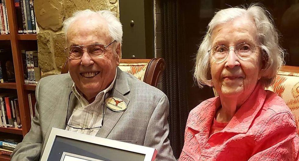 Si bien John, de 107 años, y Charlotte, de 105, se casaron en 1939, su historia de amor empezó cinco años antes. (Foto: Instagram)