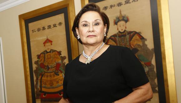Delia Revoredo Marsano, presidenta del Tribunal de Honor del Pacto Ético Electoral, iniciativa del Jurado Nacional de Elecciones (JNE). (Foto: Archivo El Comercio)