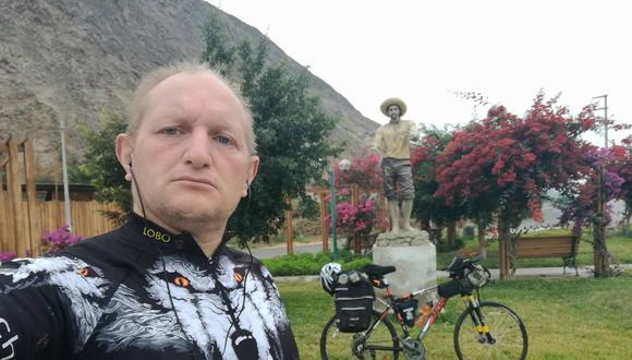 Lo conocían como el 'Lobo de la ruta' y se preparaba para una competencia que consistía en recorrer la ruta Lima - Cuzco a puro pedal.