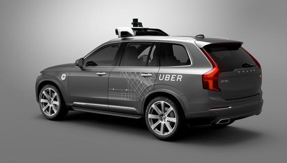 Uber se alía con Volvo para fabricar automóviles autónomos