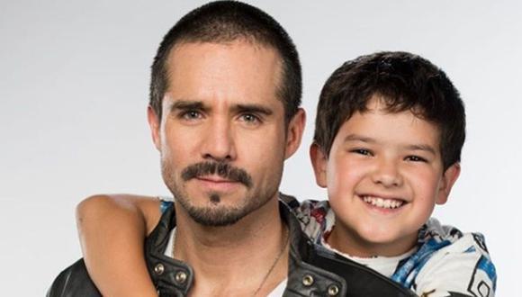 Ringo se estrenó a principios de 2019 y Patricio de la Garza interpretó a Santi, hijo de Ringo, interpretado por José Ron (Foto: Instagram/Patricio de la Garza)