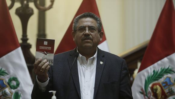 Manuel Merino asumirá la presidencia por los próximos nueve meses (Foto: César Campos).