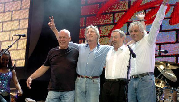 Pink Floyd trabaja en el que será su primer disco en 20 años