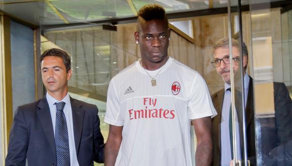 Balotelli acepta seguir código de conducta especial en Milan