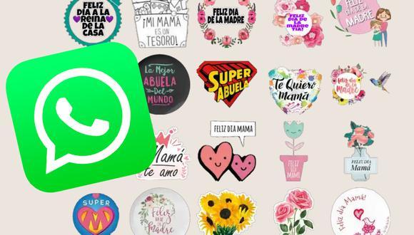 Aquí puedes descargar los mejores stickers de WhatsApp por el Día de la Madre. (Foto: MAG)