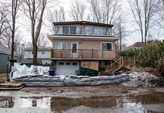 Miles de evacuados y casas bajo el agua por inundaciones en Canadá | FOTOS