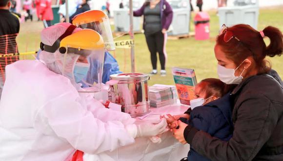 El Minsa indicó que 2.700.707 personas en Lima y Callao estarían contagiadas de COVID-19. (Foto: Minsa)