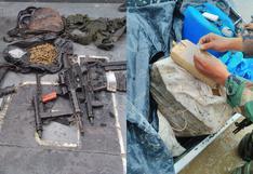 Loreto: intervienen embarcación que transportaba droga y armas en el río Napo