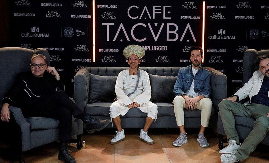 Café Tacvba está conformada por Rubén Albarrán, los hermanos Joselo y Enrique Rangel, y Emmanuel del Real. (Foto: EFE)