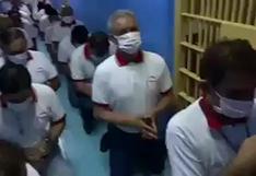 Chincha: la cadena de oración de reclusos que piden una cura para el coronavirus   VIDEO