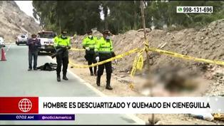 Encuentran restos humanos descuartizados en Cieneguilla