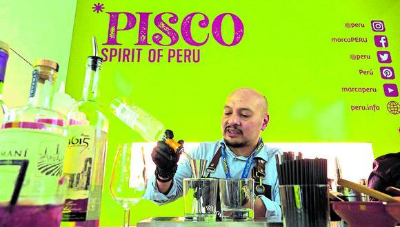 El pisco peruano en Madrid Fusión