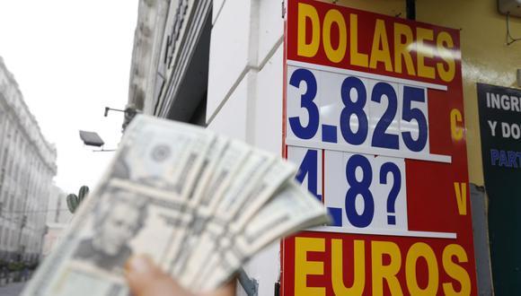 El dólar tiene un avance de 5,69% en lo que va del 2021, en comparación al resultado anotado al cierre del año pasado. (Foto: Violeta Ayasta / GEC)