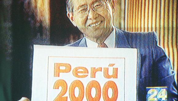 Así ocurrió: En 1999 Alberto Fujimori postula por tercera vez