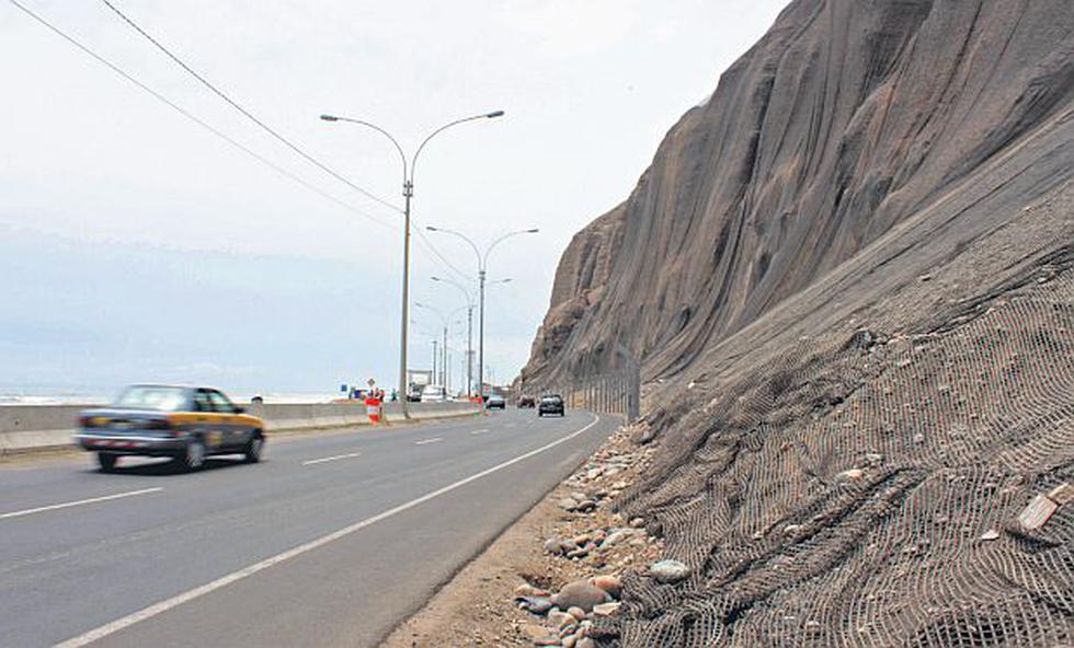 Costa Verde: todavía faltan geomallas contra deslizamientos - 1
