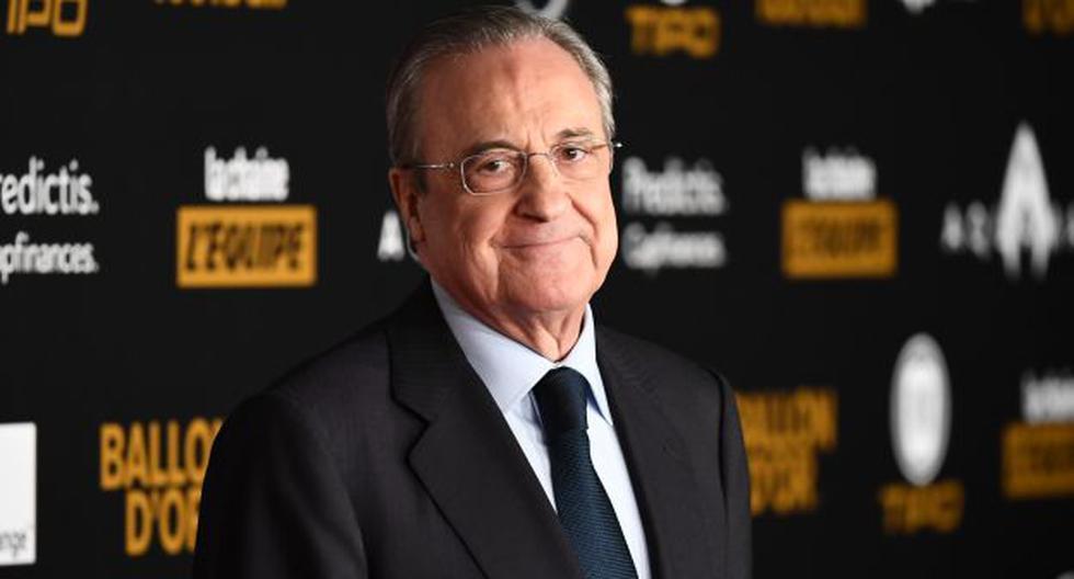 Florentino Pérez es presidente de Real Madrid desde el 2009 hasta la actualidad. (Foto: AFP)
