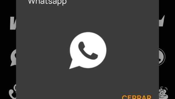 ¿Quieres tener el ícono de WhatsApp en blanco y negro? Usa estos pasos. (Foto: Whicons)