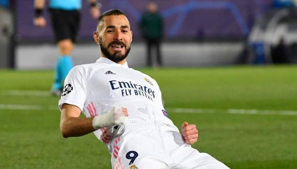 Karim Benzema lleva siete goles esta temporada de LaLiga. (Foto: AFP)