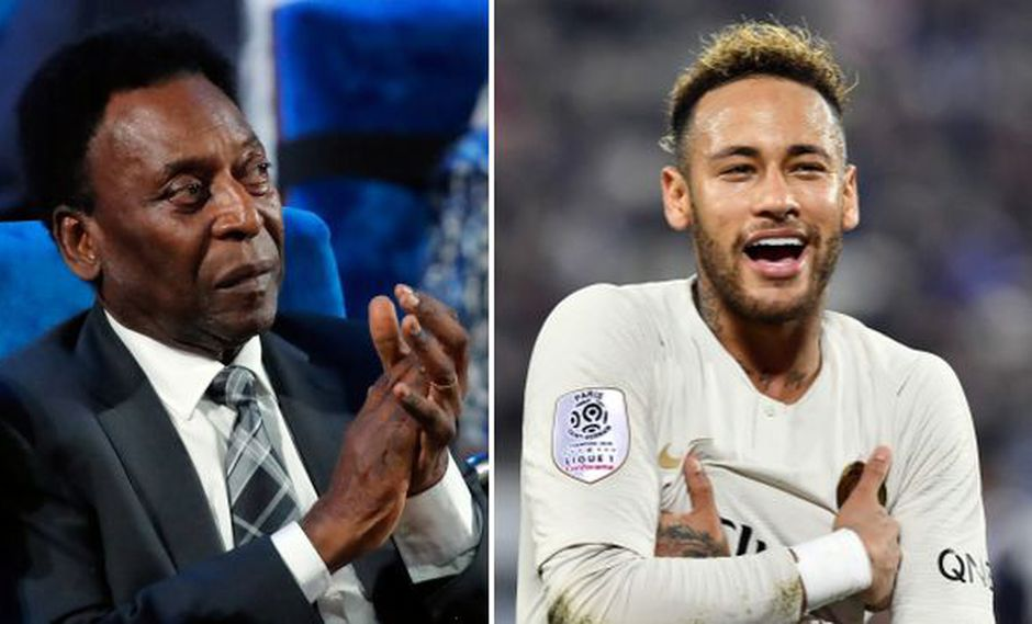 Pelé y Neymar. (Foto: Reuters)