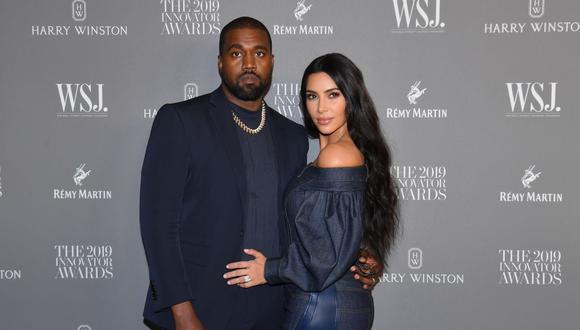 Kim Kardashian no esperó que su esposo Kanye West cuente un episodio muy íntimo de su familia. (Foto: Angela Weiss / AFP)