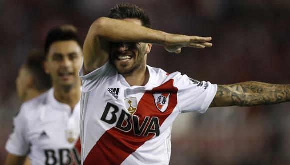 River Plate venció 1-0 a Lanús por Copa Libertadores. (Foto: Agencias)