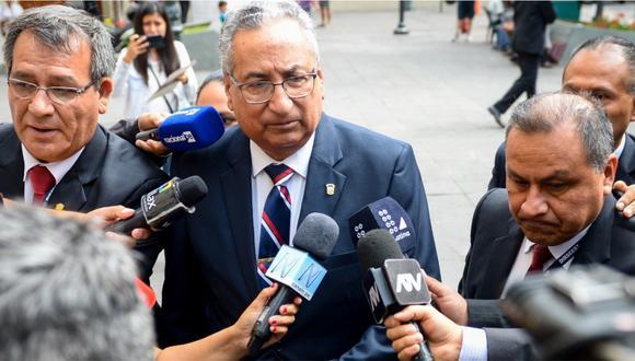 José Luis Lecaros dice que no hizo públicas sus conversaciones con exmiembros del CNM porque no había delito. (Foto: GEC)