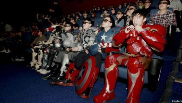 Las salas de cine siguen siendo populares a través del mundo. (Foto: Reuters)