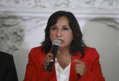 """Dina Boluarte afirma que Gobierno procederá """"conforme a ley"""" sobre interpretación de cuestión de confianza por el Congreso"""