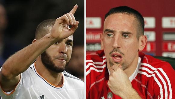 Benzema y Ribéry irán a juicio en Francia por escándalo sexual