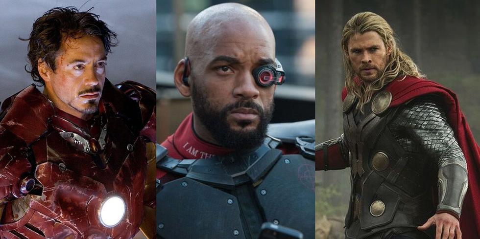 Estos actores del Universo Cinematográfico de Marvel y DC Comics dejan de lado su personaje en la ficción para cumplir su rol de padres en casa. Conoce más en esta galería. (Fotos: Disney / Marvel Studios / Warner Bros/ Composición)