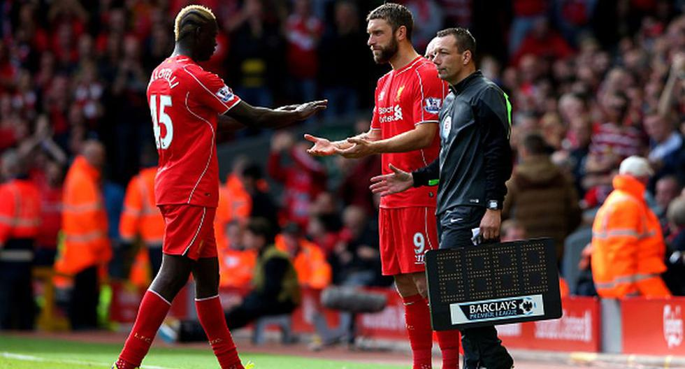Mario Balotelli estrenó 'look' en el empate del Liverpool - 7