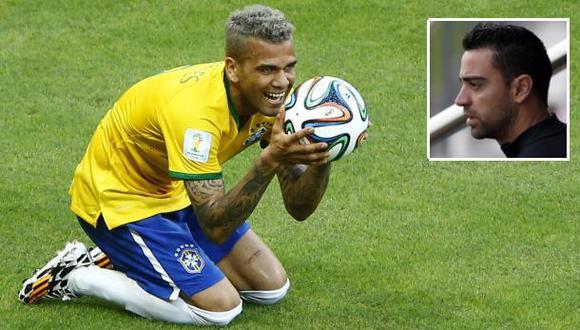 """Alves: """"Si Xavi se va del Barza, puede irse cualquiera"""""""