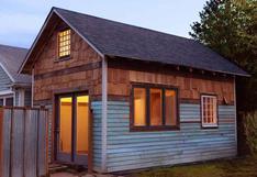 En 32m2: recorre esta preciosa casa de estilo rústico | FOTOS