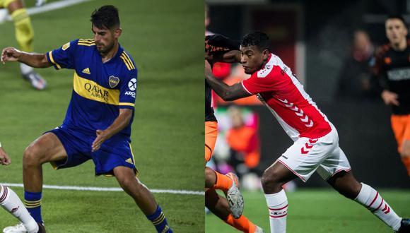 Carlos Zambrano (Boca Juniors) y Miguel Araujo (FC Emmen) son las mejores cartas de la selección peruana para jugar en el puesto de zaguero central derecho. (Foto: AFP)