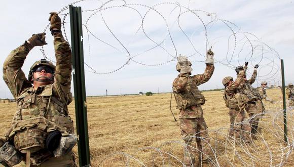 Pentágono movilizará a 250 militares hacia la frontera de Texas por caravana migrante. (Reuters)