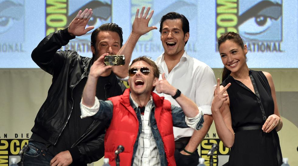 "Elenco de ""Batman v Superman"" recibió ovación en la Comic-Con - 1"