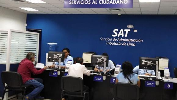 SAT anunció esta medida en el quinto día del estado de emergencia y aislamiento social para frenar el avance del coronavirus. (Foto: Difusión)