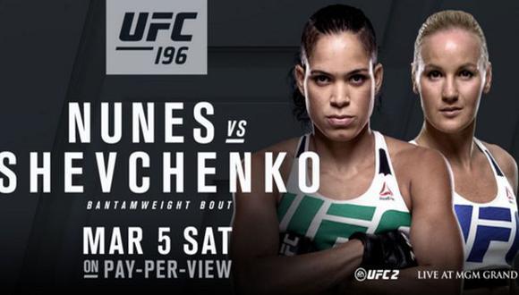 UFC: Valentina Shevchenko peleará en marzo contra Amanda Nunes