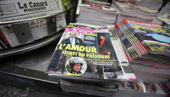 Gayet demandará a revista que reveló su romance con Hollande