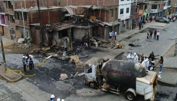 Minsa informa que a 33 aumenta la cifra de fallecidos por deflagración en Villa El Salvador. (Foto: GEC)